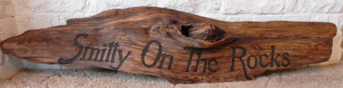 custom driftwood signs